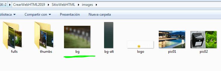 Paso 12 Cambiar la imagen de fondo - como crear una pagina web en html