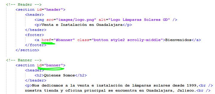 Paso 6 Identificar enlaces con la etiqueta a href - como crear una pagina web en html