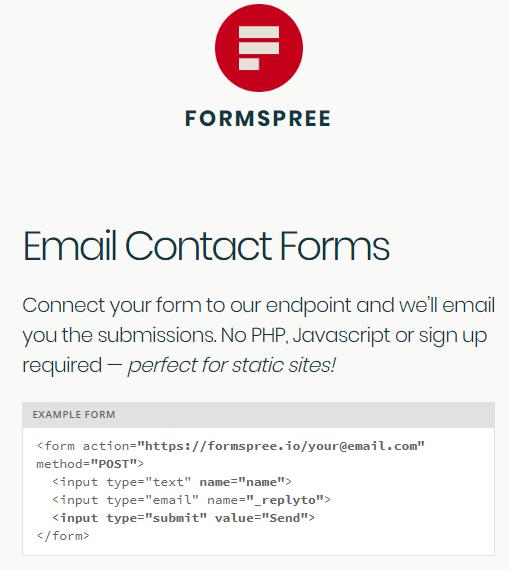 Paso 9 Conectar forma de contacto HTML sin saber programar - como crear una pagina web en html