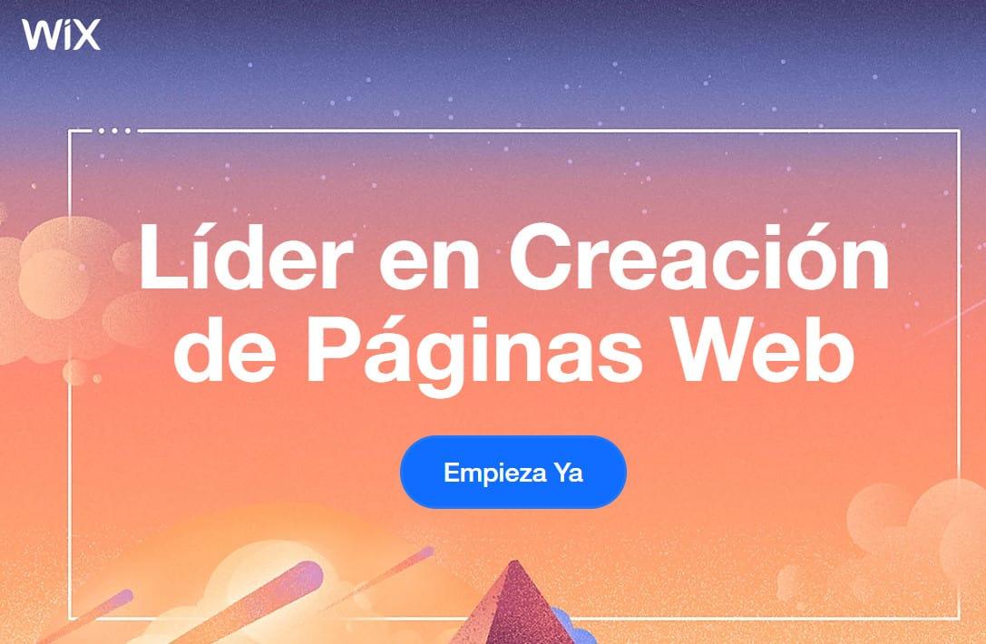 Crear una Página Web con Wix