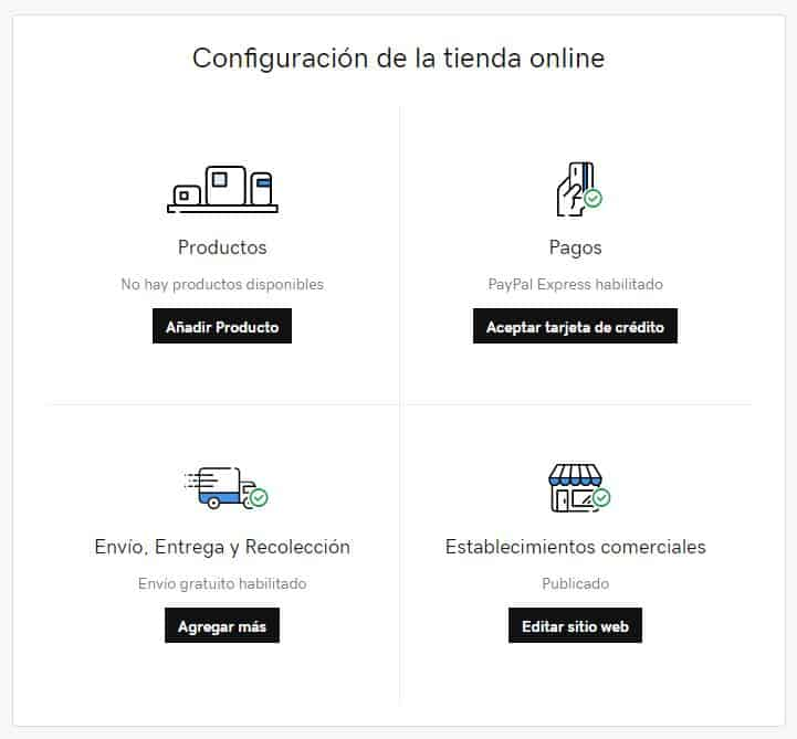 Cómo agregar una tienda en línea a la página web con GoDaddy