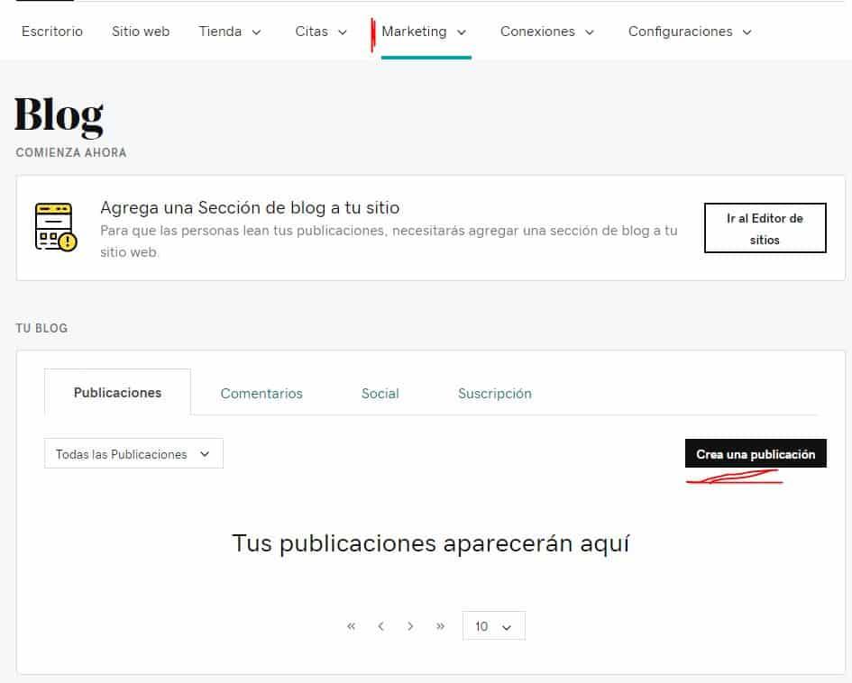 Cómo agregar un blog a la página web con el creador de sitios web de GoDaddy