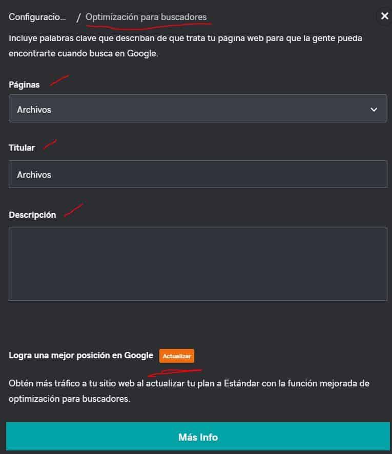 Cómo se usa la herramienta de SEO para optimizar la página web